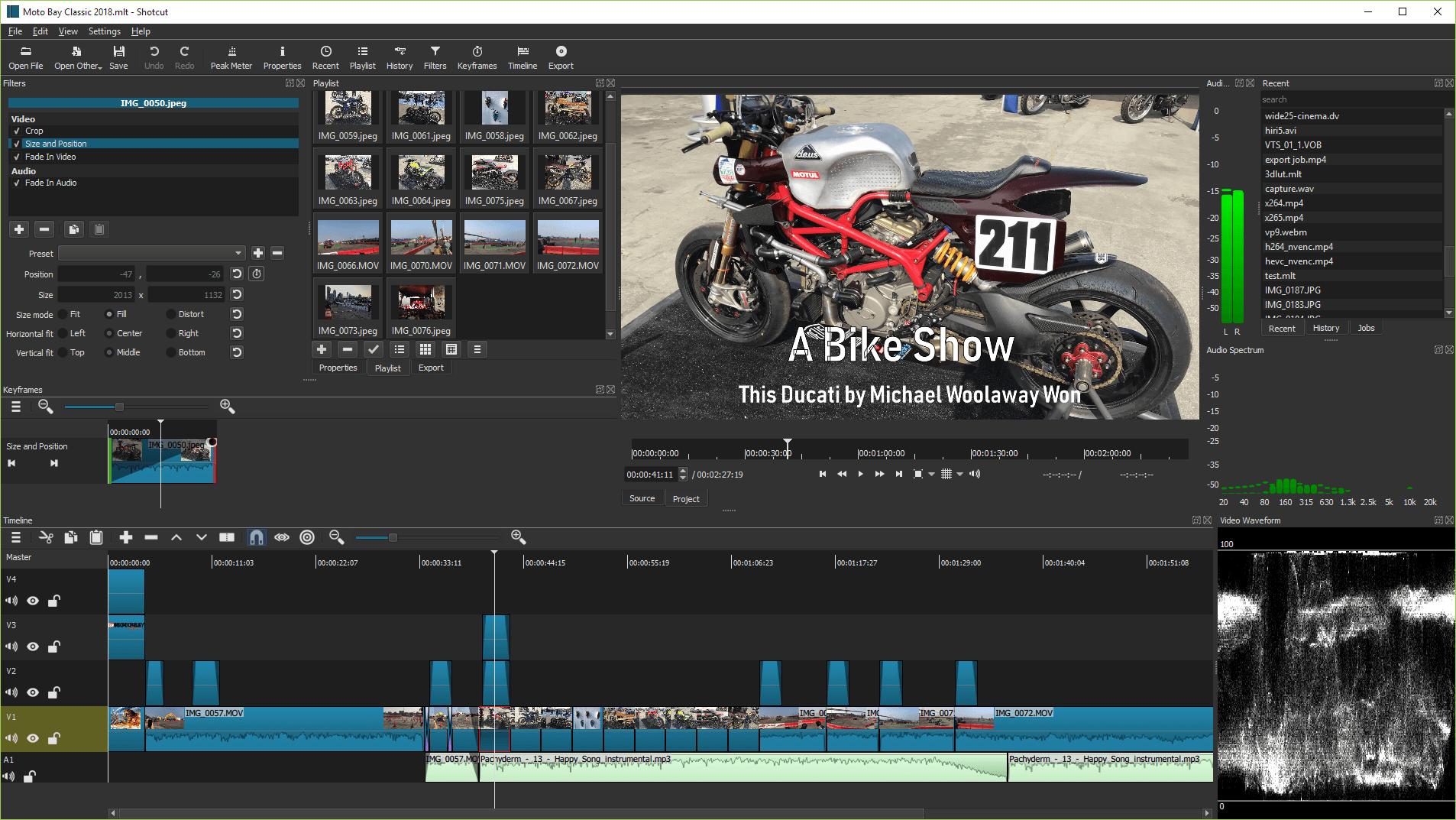 Shotcut kostenloses Videoschnittprogramm