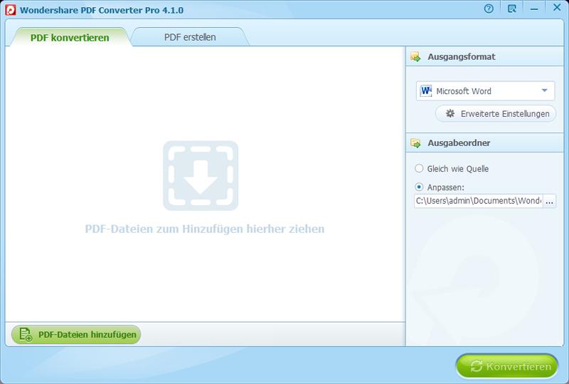 PDF Dateien hochladen