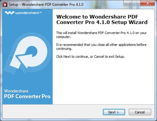 PDF Converter Pro installieren