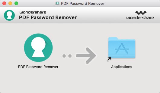 PDF Password Remover für Mac installieren