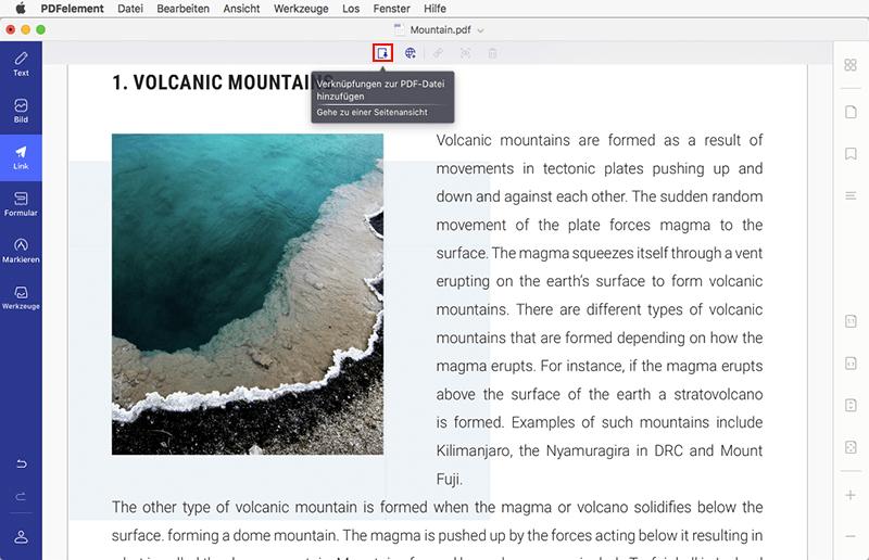 hyperlink in pdf bearbeiten