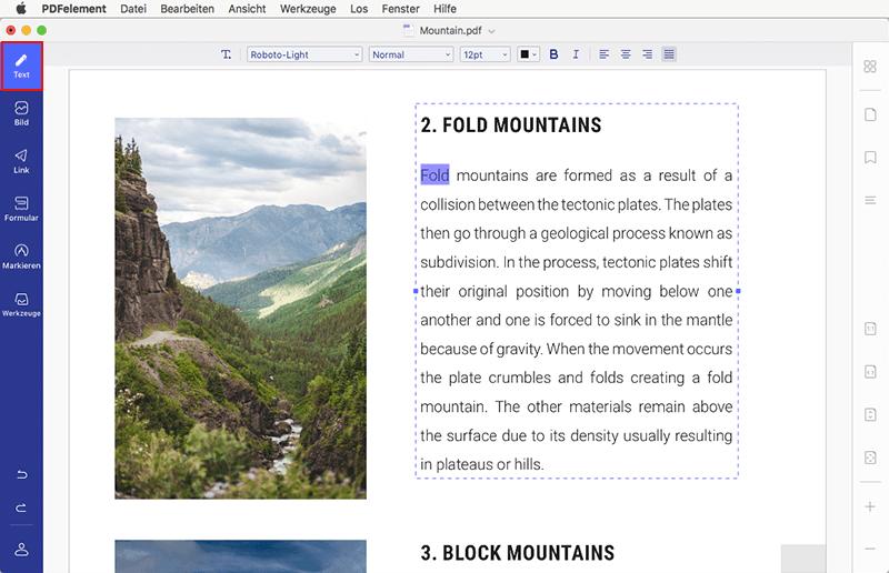 PDF auf Mac
