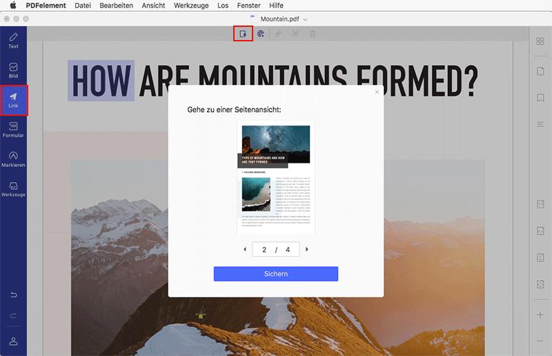 PDF-Links bearbeiten