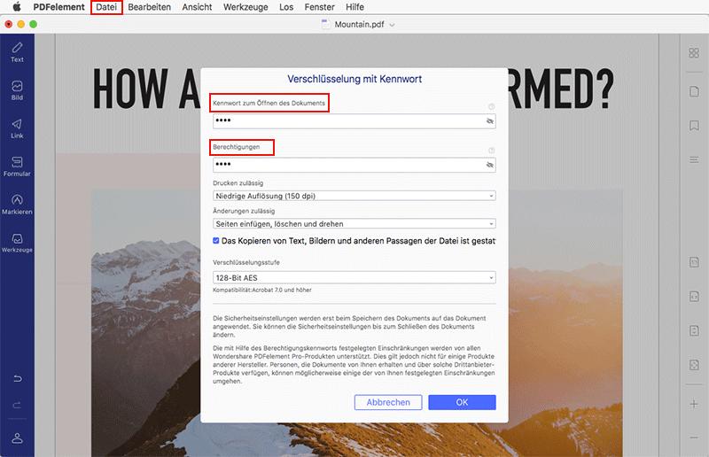 PDF Password Removers für Mac