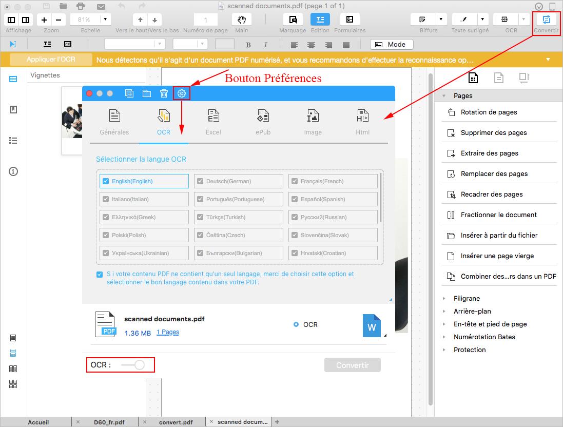 Wondershare PDFelement für Mac Handbuch