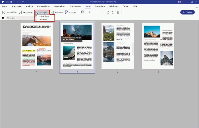 Eine PDF Seite zuschneiden