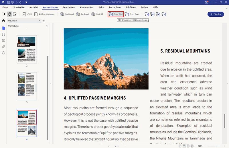 PDF in JPG umwandeln