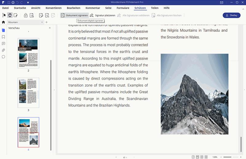 PDF-Dateien unterschreiben
