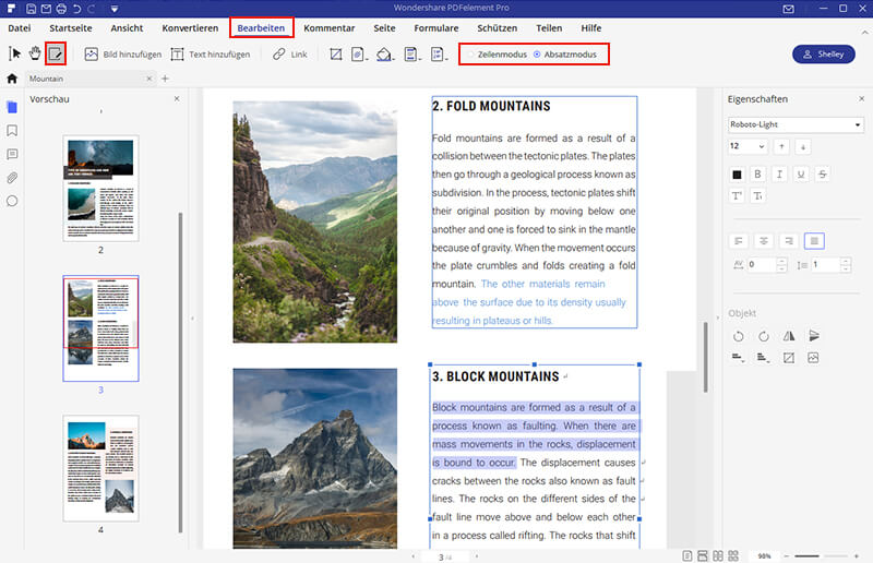 pdf text bearbeiten freeware