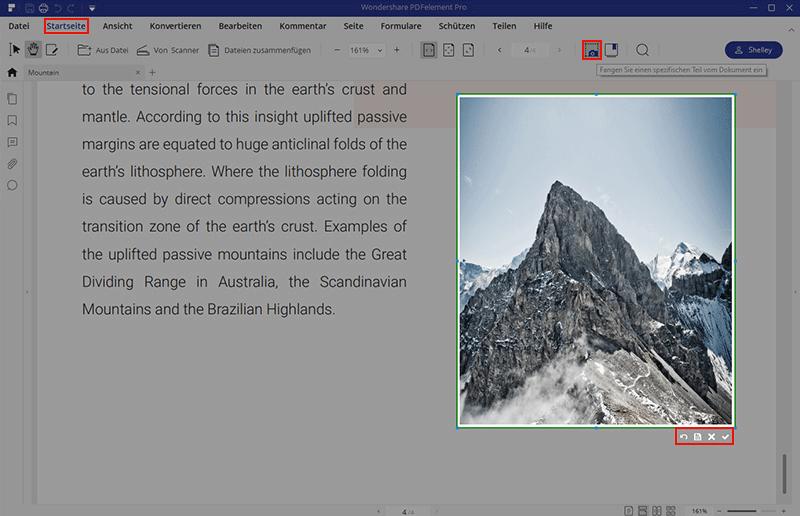 Kopieren und Einfügen aus/in einer geschützten PDF-Datei