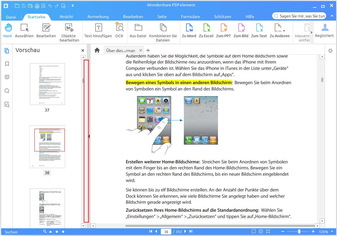 Wondershare PDFelement für Windows Handbuch