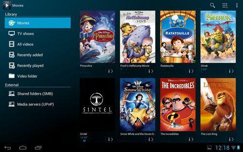 Archos Videos Player für Android