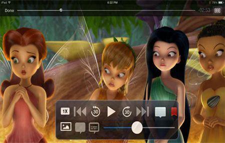 Azul Media Player für iOS