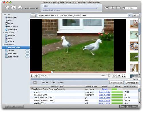 Elmedia Player für Mac