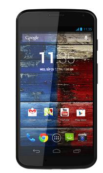 Moto X screenshot machen