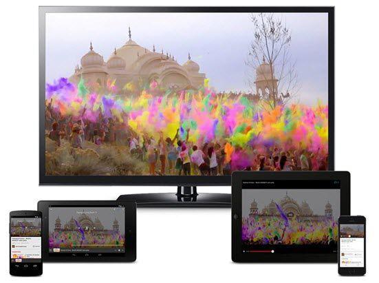 chromecast auf tv