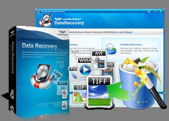Wondershare Data Recovery installieren