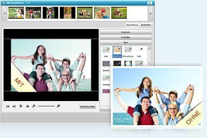 DVD Slideshow Builder HD-Video Deluxe key feature