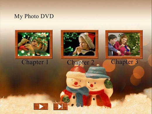 Kostenlose DVD Menüvorlagen