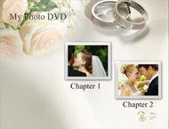 Free Wedding Themed DVD Menu Background Templates