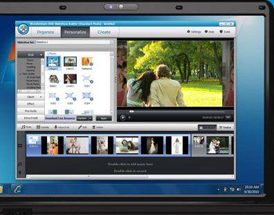 iMovie Alternative - dvd slideshow builder