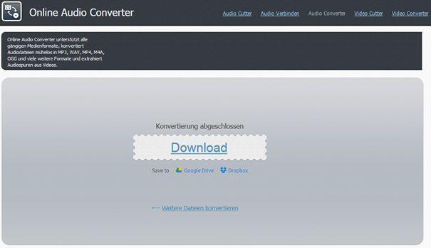 m4b zu mp3 online konvertieren