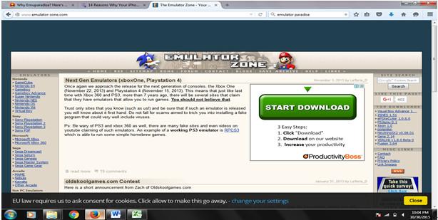 15 awesome Webseiten Lust wie Emulator-Paradies
