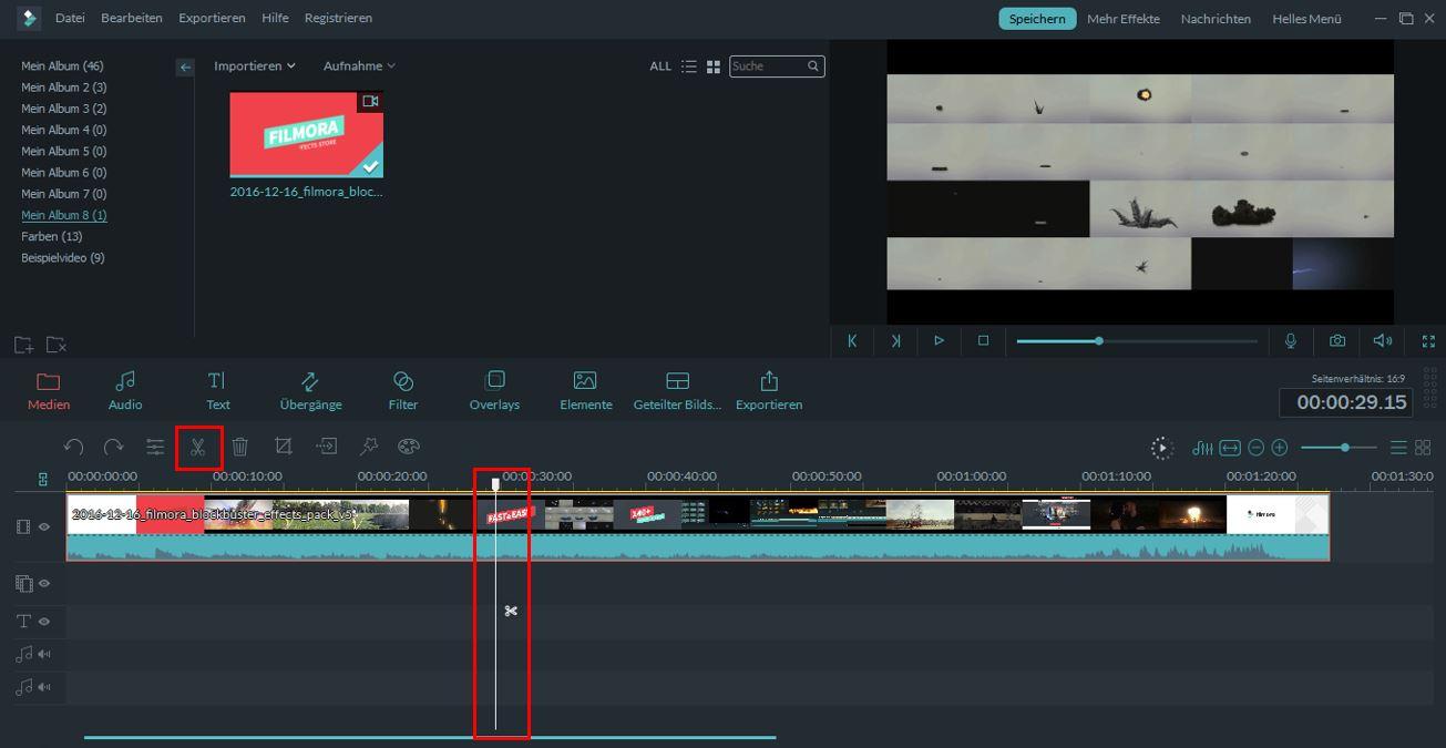 filmora video schneiden