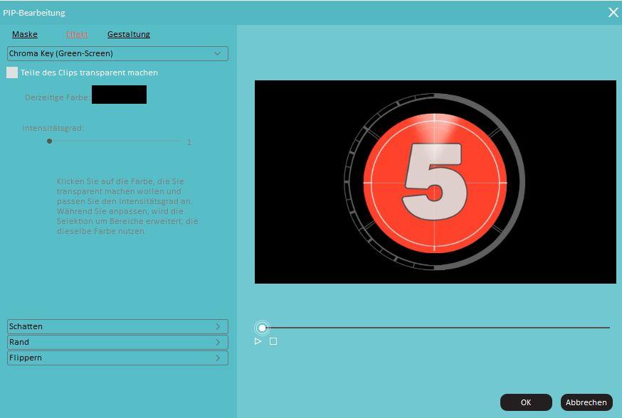Personalisieren Sie Ihr Bild-in-Bild-Video