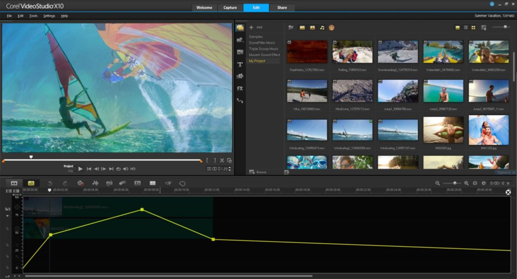 corel video studio videobearbeitungsprogramm windows 10