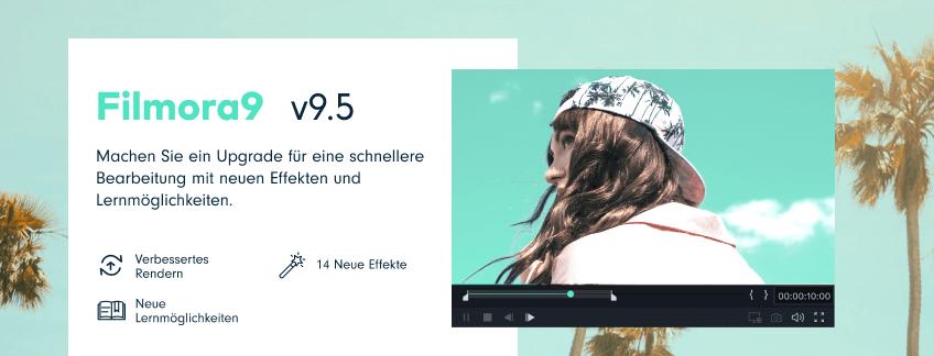 Neueste Filmora 9.5 Version
