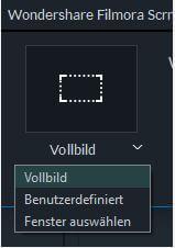 screen recorder window