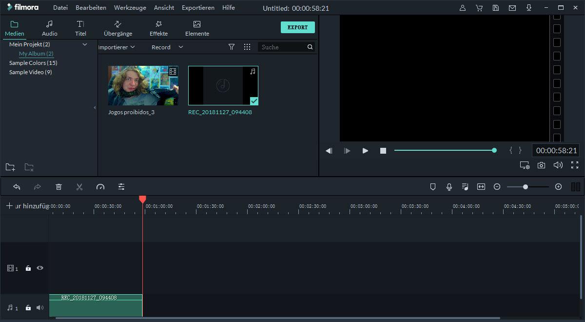 filmora windows webcam aufnehmen