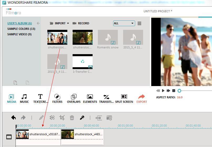 multi screen video