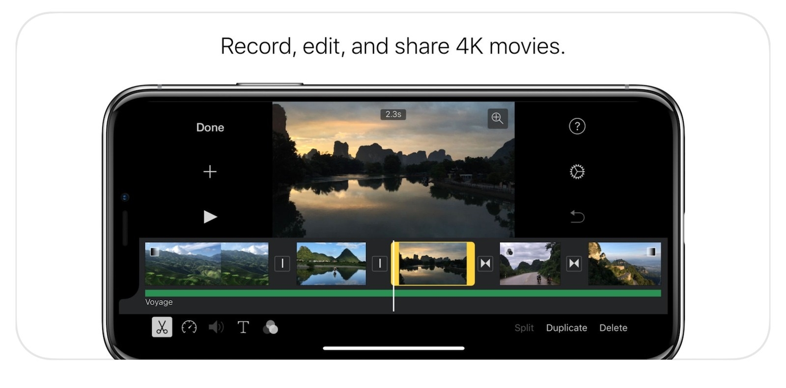imovie für iphone