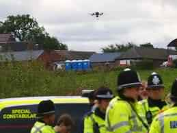 drones in surveillance