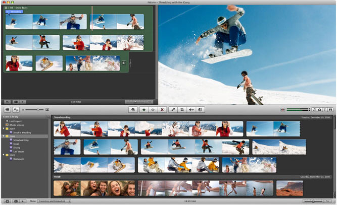 iMovie Videobearbeitung Freeware