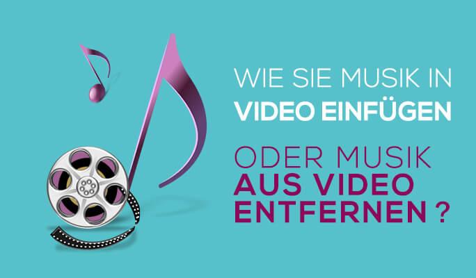 Wie Sie Musik & Voiceover zu Videos hinzufügen können