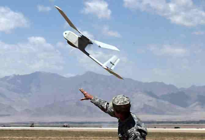 very close range drones