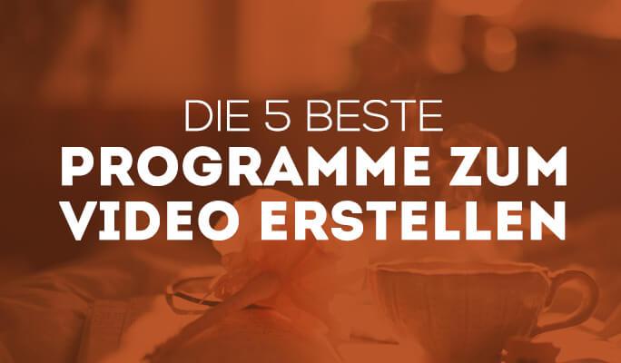 Die 5 besten Programme 2021 zum Erstellen von Videos