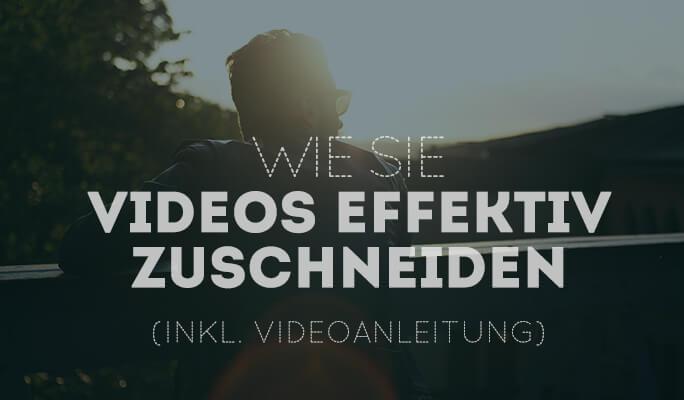 Video zuschneiden