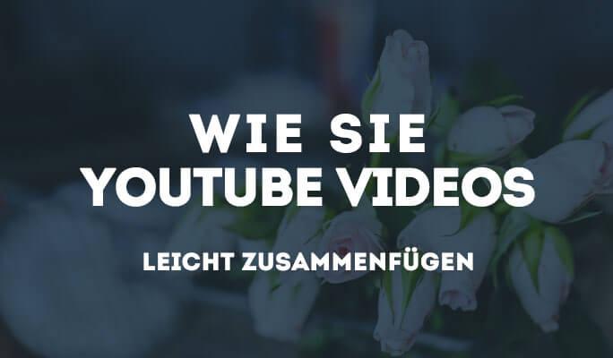 Wie Sie YouTube (FLV) Videos zusammenfügen/kombinieren