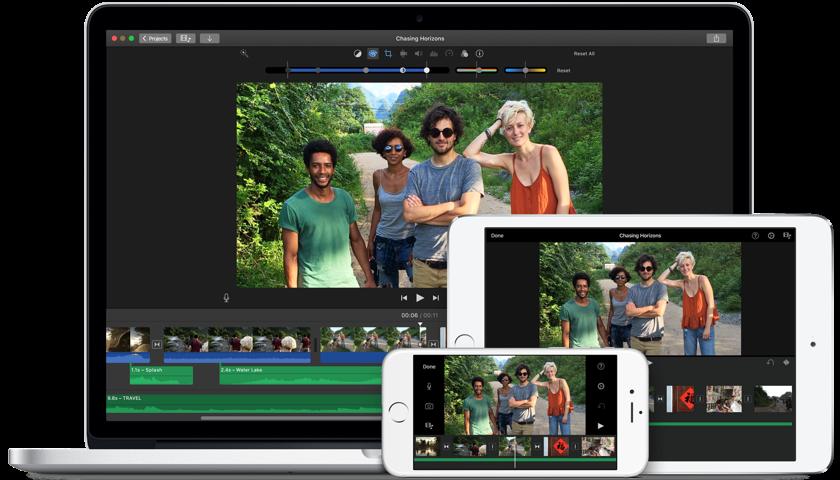 iMovie iPad Videobearbeitungsprogramm