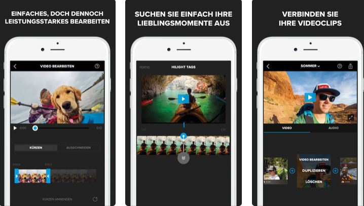 splice videobearbeitung iphone