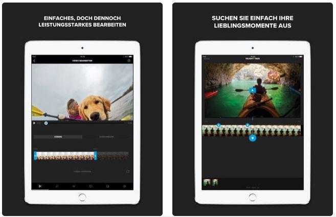 iPad Video kostenlos bearbeiten mit Splice