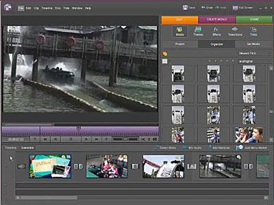 iMovie alternative 3: Adobe Premiere Elements