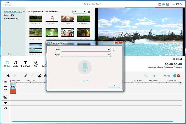 Witziges Videobearbeitungsprogramm