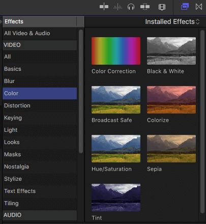 Effekt-Browser