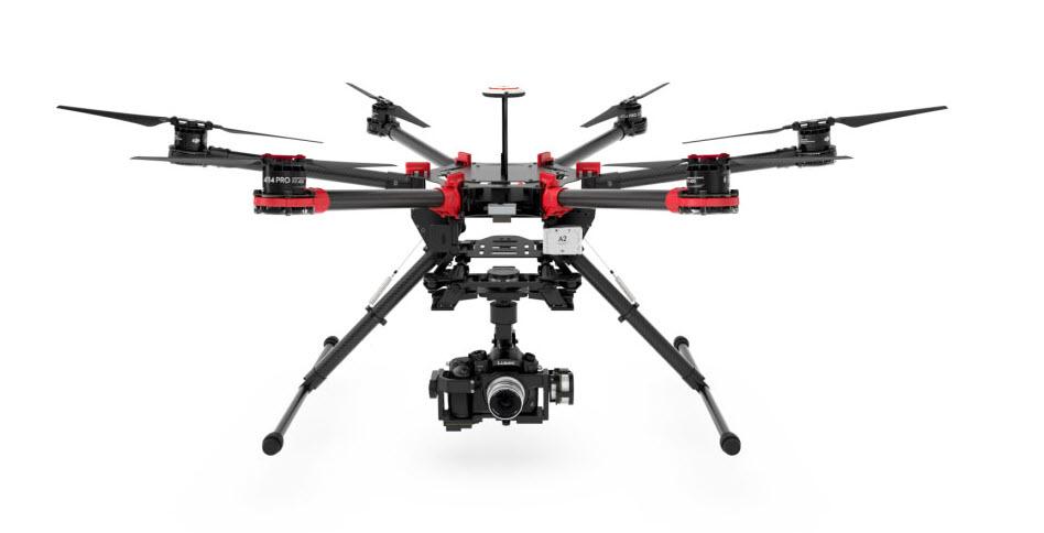 dji s900 hexacopter
