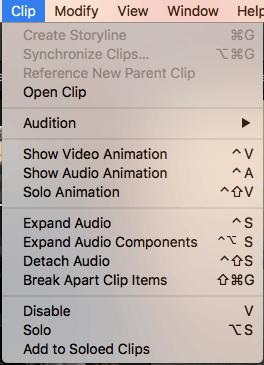 Detach audio